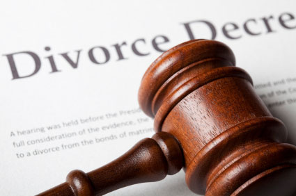 photo of divorce decree